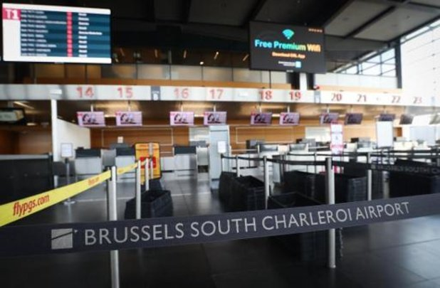 L'aéroport de Charleroi fermé à partir de mardi soir et jusqu'au 5 avril