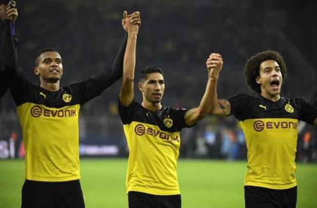 Les Belges à l'étranger - Dortmund (avec Witsel et Hazard) remonte deux buts face à l'Inter de Lukaku