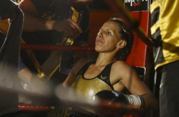La boxeuse Sanae Jah lauréate du prix du PFWB pour la promotion du sport féminin