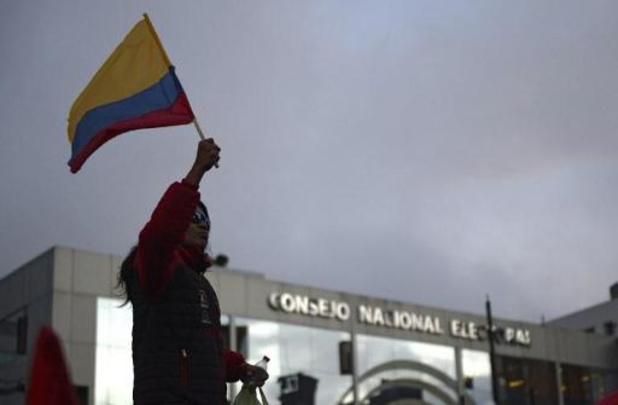 Presidentsverkiezing Ecuador - Deel van de stemmen opnieuw geteld