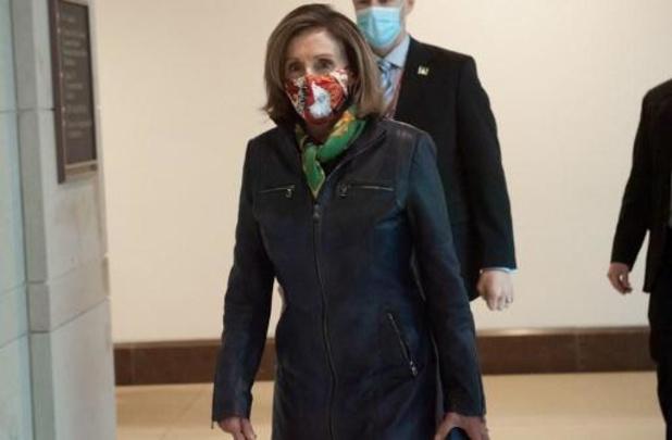 USA: la démocrate Nancy Pelosi réélue présidente de la Chambre des représentants