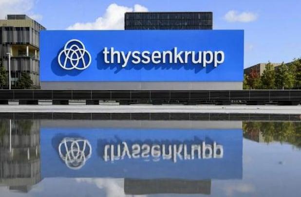 Le conglomérat Thyssenkrupp va supprimer 5.000 emplois supplémentaires, soit 11.000 au total