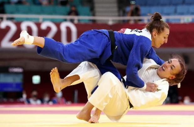 OS 2020 - Judoka Charline Van Snick stoomt door naar kwartfinales
