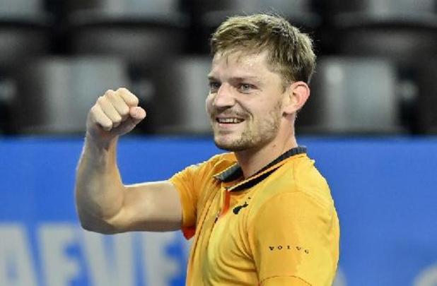 David Goffin bat Alexander Zverev en deux sets et file en quarts de finale