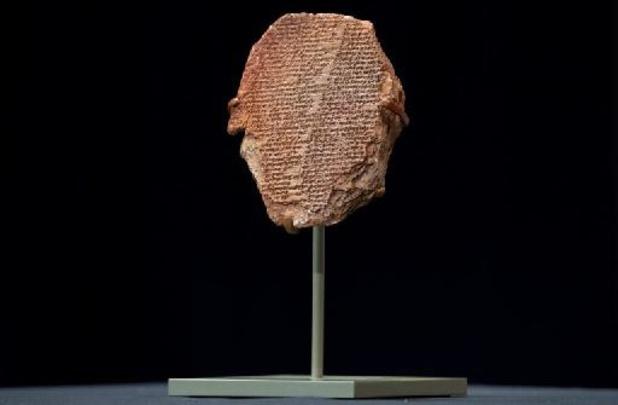 """La """"tablette de Gilgamesh"""", joyau mésopotamien, restituée à l'Irak"""