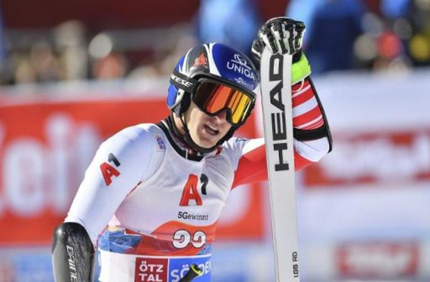 WB alpijnse ski - Matthias Mayer wint super-G in Lake Louise