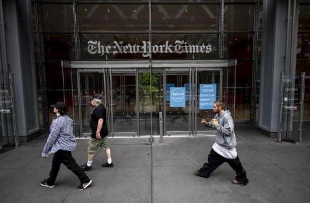 Le New York Times a gagné plus de deux millions d'abonnés en 2020