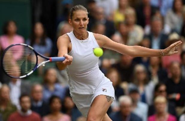 WTA Cincinnati - Karolina Pliskova en verrassende Jil Teichmann zitten bij laatste vier