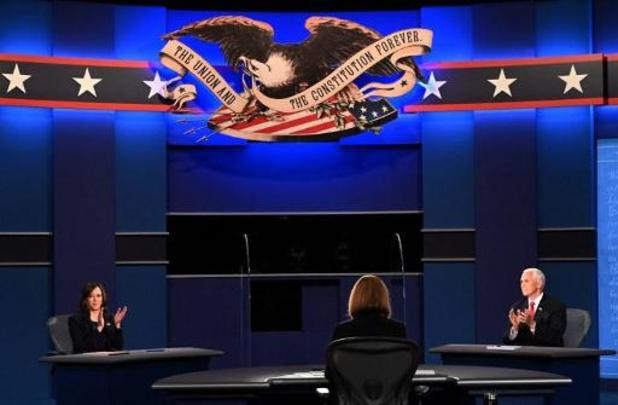 """Présidentielle 2020 aux Etats-Unis - La modératrice invite à un """"échange respectueux"""" entre Mike Pence et Kamala Harris"""