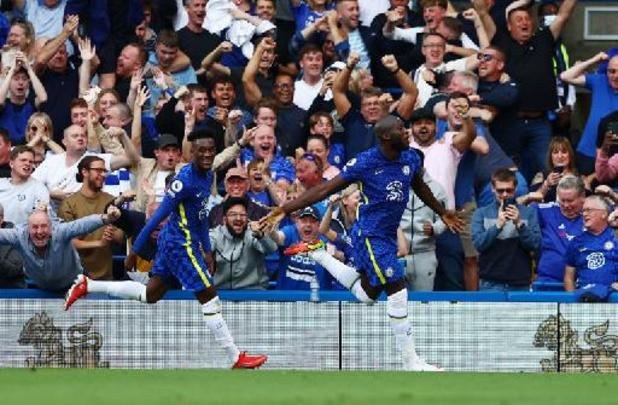 Les Belges à l'étranger - Lukaku ouvre son compteur but à Stamford Bridge avec un doublé face à Aston Villa