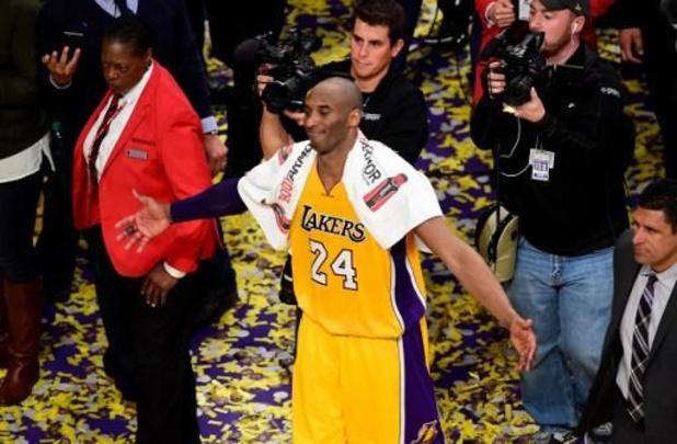 Spullen overleden basketballer Bryant voor 185.000 euro geveild