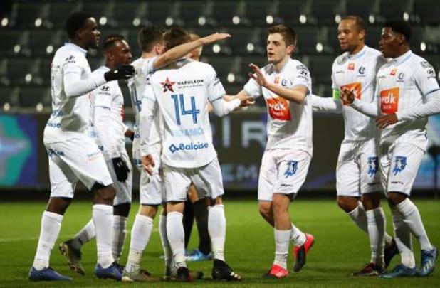 Jupiler Pro League - La Gantoise a pris trois fois l'avance à Eupen