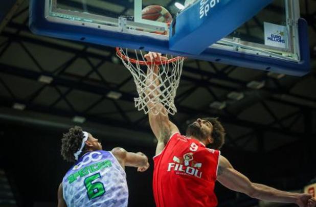 Euromillions Basket League - Oostende haalt uit bij Bergen, Brussels wint tegen Mechelen