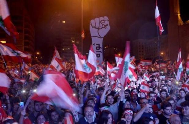 Contestation au Liban - La contestation se mobilise massivement après un rassemblement pro-pouvoir