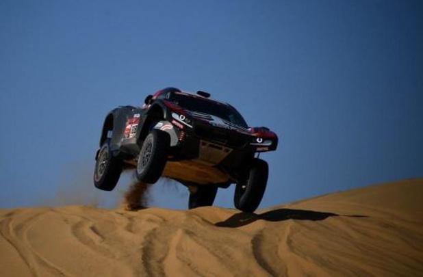 La malchance prive Serradori et Lurquin de la victoire dans la 9e étape au Dakar