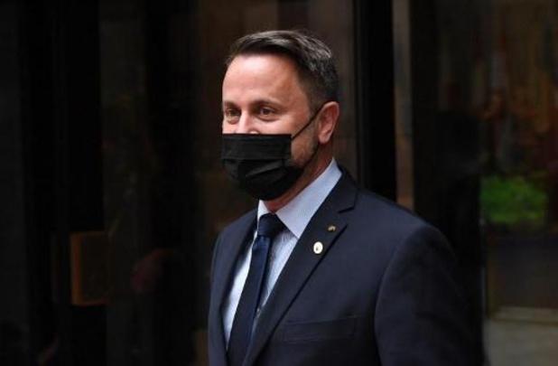 Luxemburgse premier Bettel heeft ziekenhuis verlaten