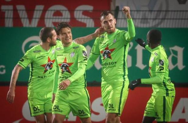 Jupiler Pro League - Zulte Waregem vijfde na 1-2 zege in Kortrijk