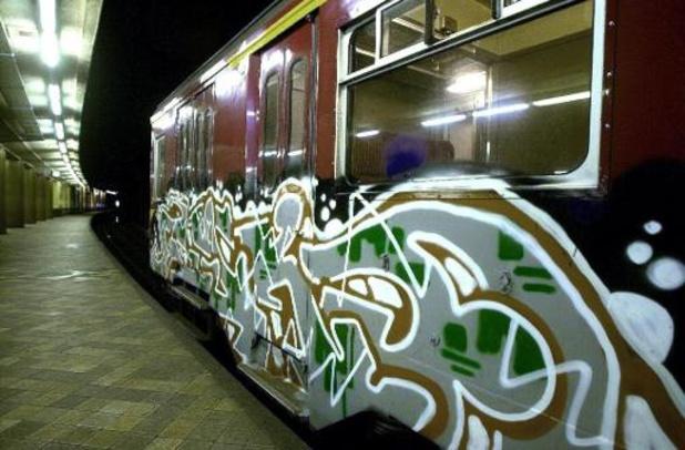 Graffiti op treinen kostte NMBS ruim 6 miljoen euro in 2020