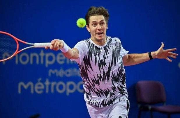 ATP Montpellier - David Goffin in halve finale tegen Egor Gerasimov