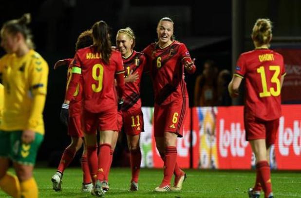 Red Flames - Tine De Caigny treft vijf keer raak in 6-0 zege tegen Litouwen, Flames blijven foutloos