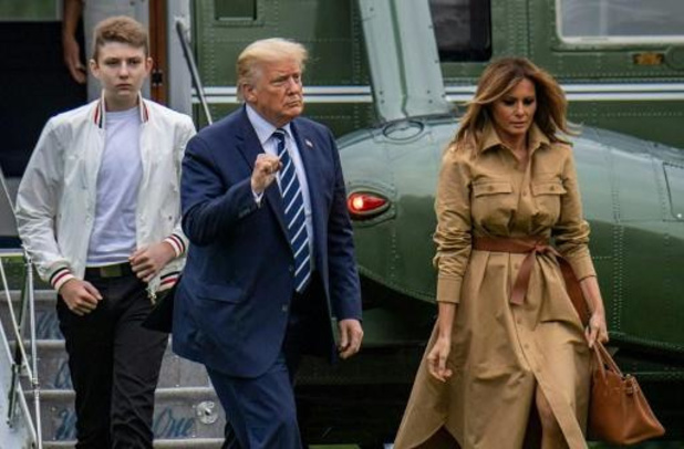 Coronavirus - Jongste zoon Trump toch besmet met coronavirus