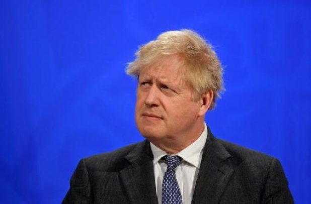Boris Johnson is tevreden met exit van Engelse clubs