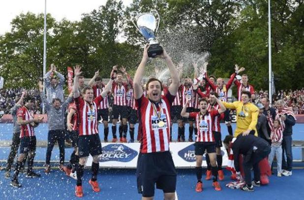 Coronavirus - Fin des championnats de hockey, pas de titre de champion de Belgique