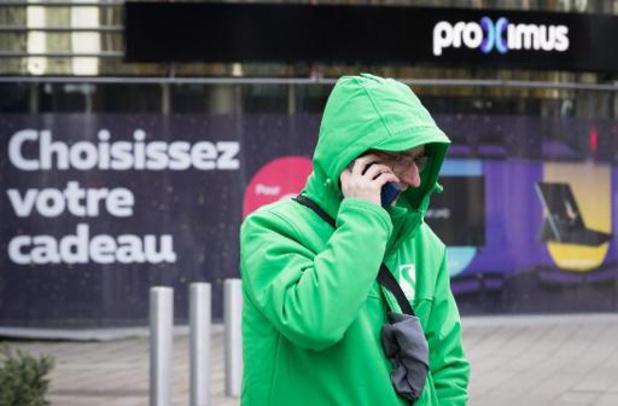 Les tensions sociales se poursuivent chez Proximus, avec 37 magasins fermés pour grève