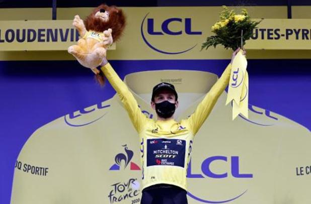 """Tour de France - Adam Yates """"plutôt content"""" d'avoir gardé son maillot jaune"""
