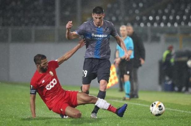 Europa League - Standard doet slechte zaak met gelijkspel bij Vitoria Guimaraes