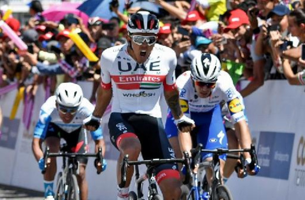 Juan Sebastian Molano remporte la 2e étape, Edward Planckaert cède son maillot de leader