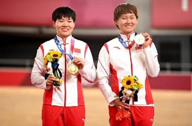 Deux Chinoises sur le podium avec un badge de Mao, le CIO demande des explications