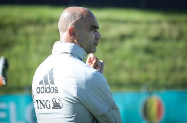 """EK 2020 - Roberto Martinez leeft mee met Eriksen: """"Was een echte shock"""""""