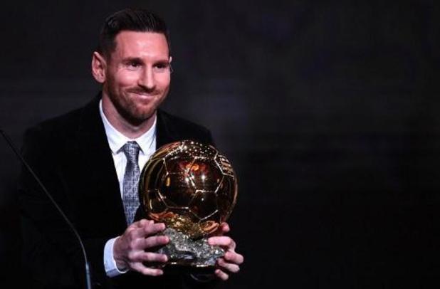 Le Ballon d'Or ne sera pas attribué en 2020