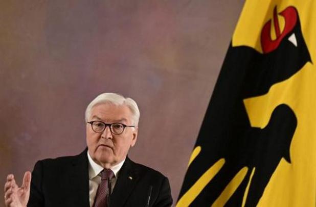 Duitse president wil tweede termijn