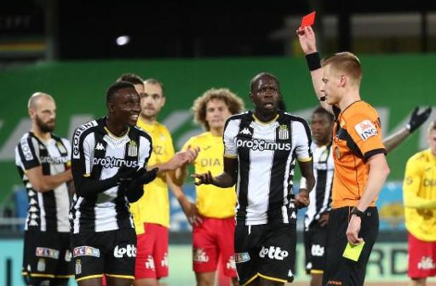 Modou Diagne (Charleroi) encourt une journée de suspension contre Eupen