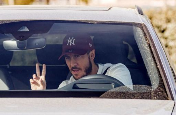 Le Real Madrid a repris l'entraînement avec Eden Hazard et Thibaut Courtois