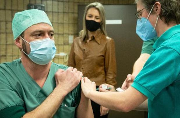 78% du personnel des hôpitaux bruxellois a été vacciné