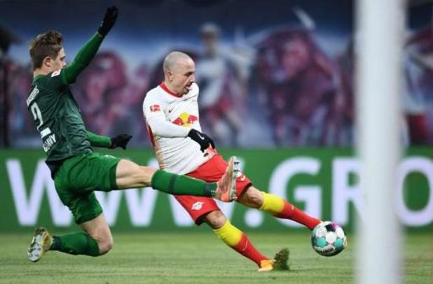 Bundesliga - Leipzig lève l'option d'achat sur le prolifique Angelino
