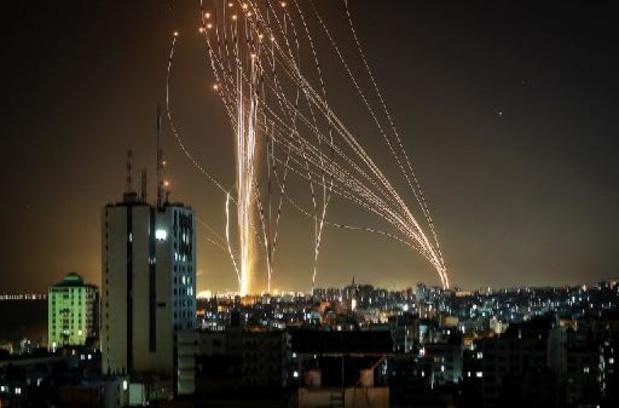 Pluie de roquettes du Hamas en direction de Tel-Aviv