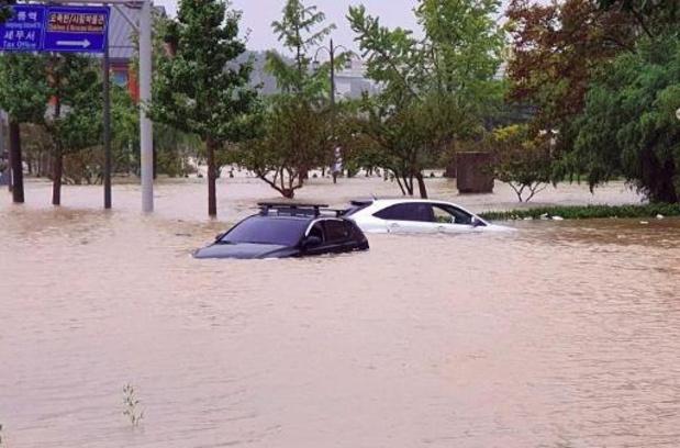 Typhon en Corée du Sud: au moins six morts