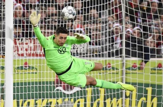 Europa League - Wolfsburg et Koen Casteels éliminés en 8e de finale