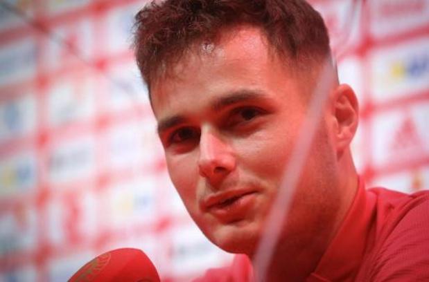 """Zinho Vanheusden découvre les Diables Rouges après """"une belle semaine"""""""
