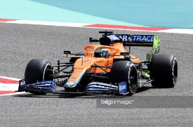 Ricciardo is de snelste in Bahrein