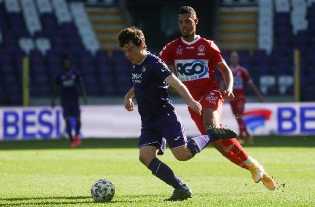 Lucas Lissens prolonge à Anderlecht jusqu'en 2024