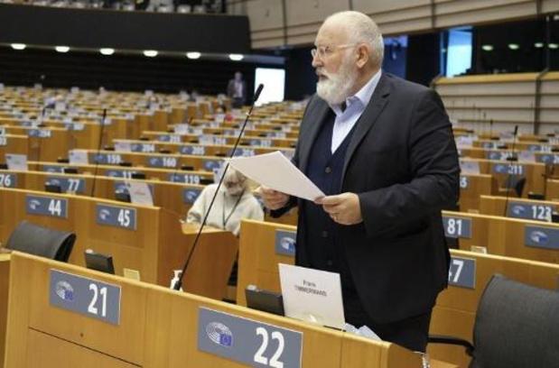 Europees Parlement eist klimaatneutraliteit van elke lidstaat tegen 2050
