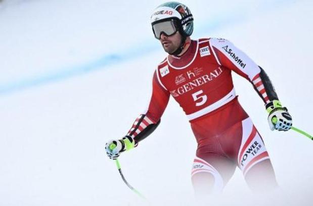 Vincent Kriechmayr wint Super-G in Kitzbühel