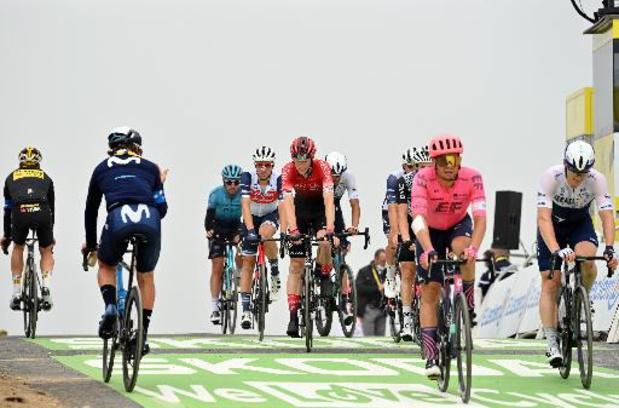 Départ de la 18e étape avec deux derniers cols pour en finir avec les Pyrénées