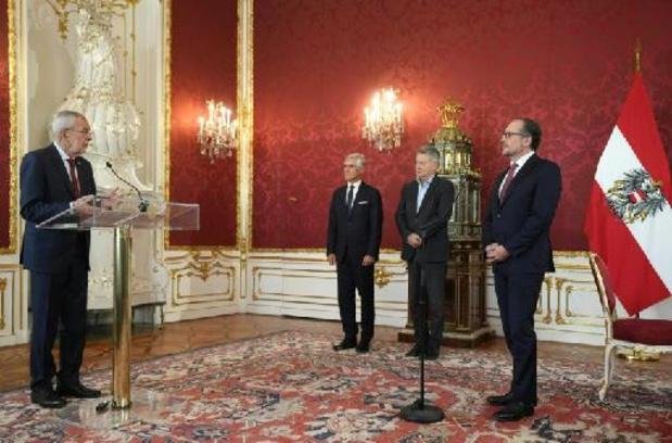 Schallenberg legt eed af als Oostenrijks kanselier