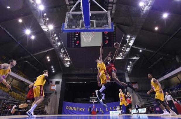 Euromillions Basket League - Limburg United s'impose dans le choc face à Mons, Charleroi gagne à Liège